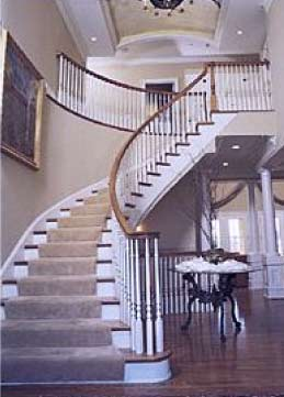 Beautiful Custom Stair And Handrail Contractor, Bay Area   Northern, CA   Staircase  Builder San Francisco Tahoe Napa Valley San Ramon Danville Orinda Lafayette  ...